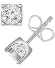 Image of TruMiracle® Diamond Stud Earrings (5/8 ct. t.w.) in 14k Gold or White Gold