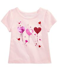 Image of Epic Threads Toddler Girls Balloon Girl T-Shirt, Created for Macy's