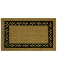 "Image of Bacova Scroll Border 18"" x 30"" Doormat"