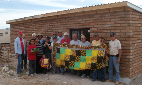 We support Agua Prieta Family Shelters