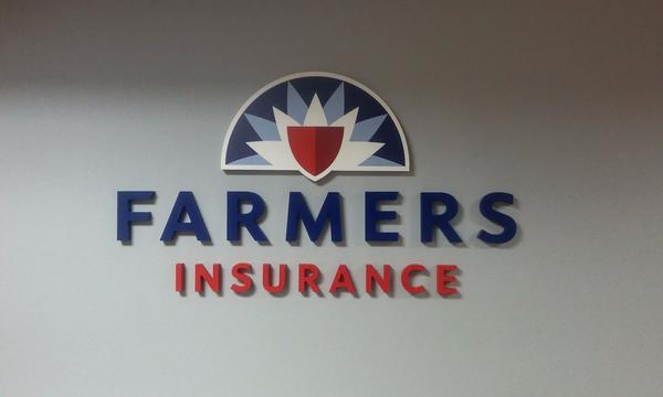 Farmers® wall mount logo