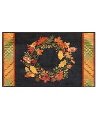 "Image of Nourison Wreath 18"" x 30"" Accent Rug"