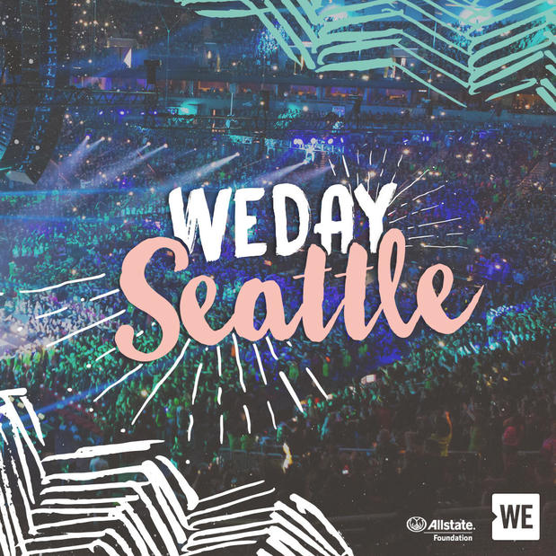 Dennis Bolger - 2017 was the second year in a row that our agency was involved in WE Day Seattle, title sponsored by the Allstate Foundation.