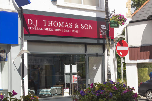 D J Thomas & Son Funeral Directors in Caerphilly