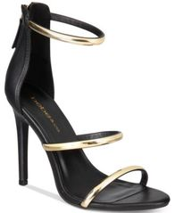 Image of bebe Berdine Ankle-Strap Dress Sandals