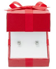 Image of Certified Diamond Stud Earrings (5/8 ct. t.w.) in 14k Gold or White Gold