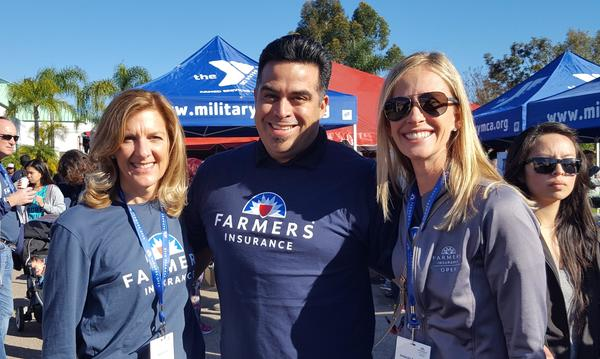 Always great to meet up with our COO Kathy Cody during the Farmers Open Community Event.