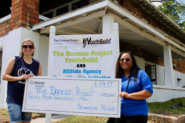 Burns Mitchell Agency - Allstate Foundation Helping Hands Grant Helps The Dannon Project