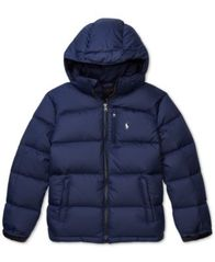 Image of Polo Ralph Lauren Big Boys Quilted Down Jacket
