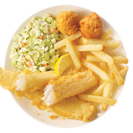 Image of 2 Piece Batter Dipped Fish Meal
