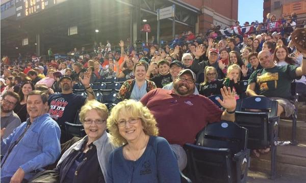 Ronald Hyre Agency annual Client Appreciation Night at the Akron RubberDucks