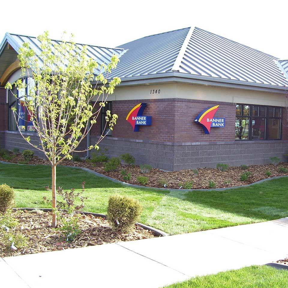 Banner Bank branch in Twin Falls, Idaho