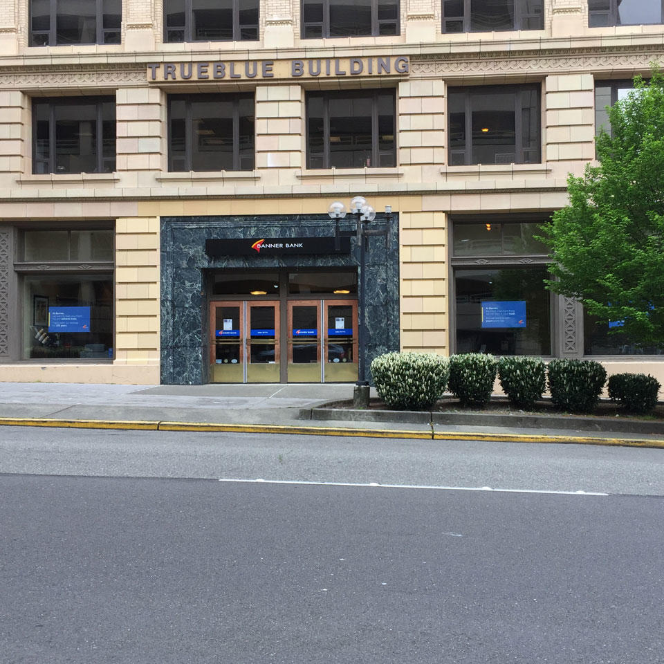 Banner Bank branch in Tacoma, Washington