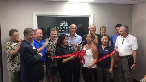Ribbon Cutting Ceremony on 8/5/16 with our friends from the Poway Chamber of Commerce
