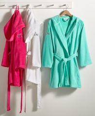 Image of Lacoste Fairplay Cotton Bath Robe