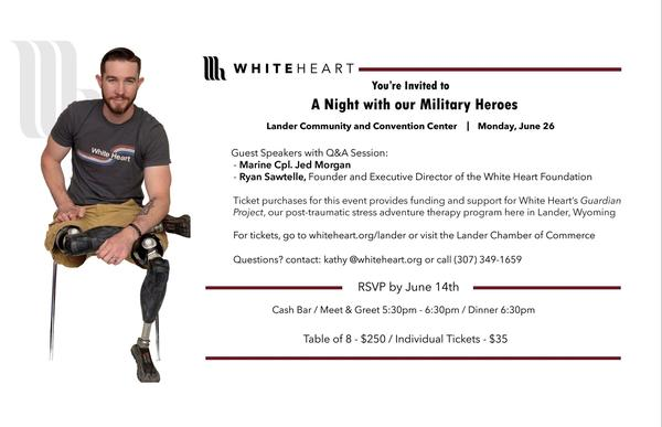 Please help us support our military heroes by attending this local event on June 26th!