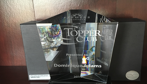 2014 Topper Club Award Recipient