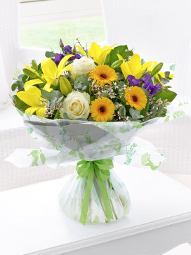 Image of Spring Sunshine Hand-tied