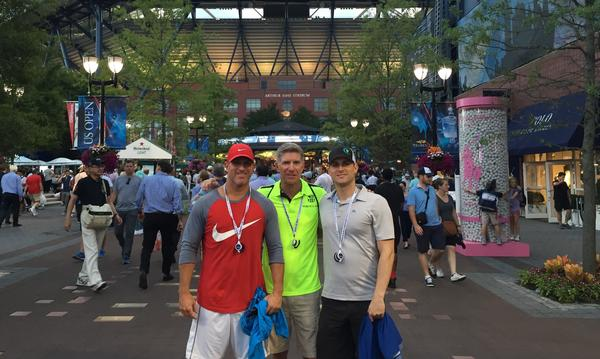 US Open with the family