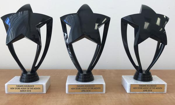 Three awards