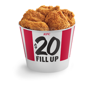 Kfc Fried Chicken Extra Crispy Chicken Bucket Of Chicken