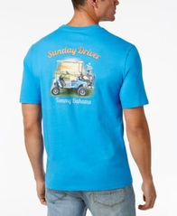 Image of Tommy Bahama Men's Graphic Print Cotton T-Shirt