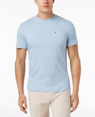 Image of Tommy Hilfiger Men's Tommy Crew Neck Pocket T-Shirt, Created for Macy's