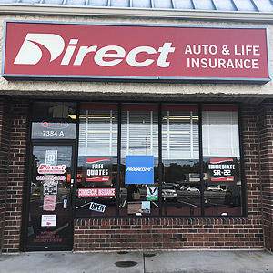 Front of Direct Auto store at 7384A Two Notch Road, Columbia