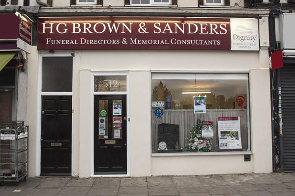 H G Brown & Sanders Funeral Directors in Heston