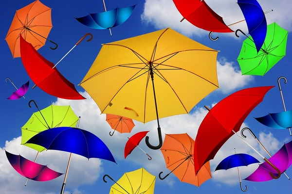 Umbrella's that are not for the rain!