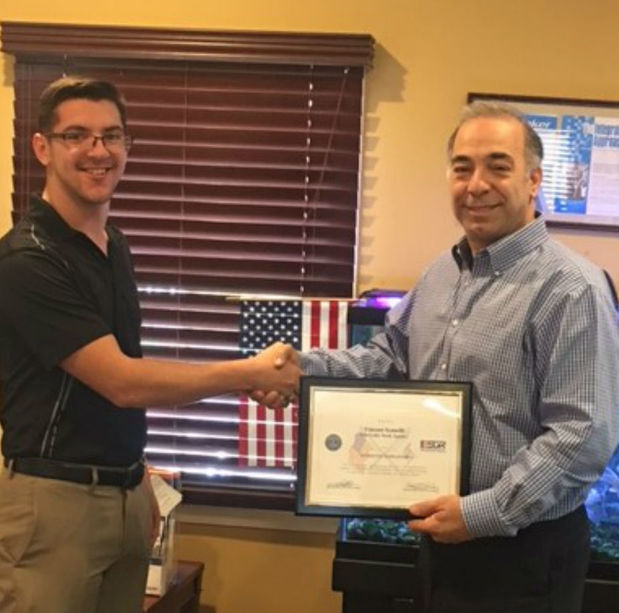 Vincent J. Scanelli - Recipient of the Patriotic Employer Award