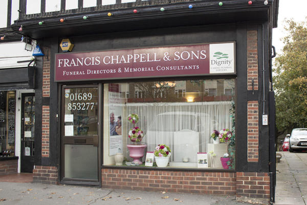 Francis Chappell & Sons Funeral Directors in Farnborough