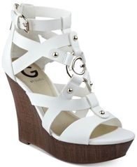 Image of G by Guess Dodge Platform Wedge Sandals
