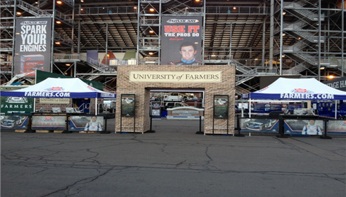 University of Farmers NASCAR at PIR