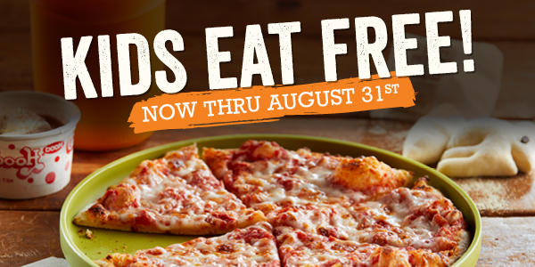 Bertucci's - Kids Eat Free in August