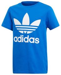 Image of adidas Originals adicolor Logo-Print Cotton T-Shirt, Big Boys