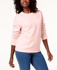 Image of Karen Scott Classic Sweatshirt, Created for Macy's