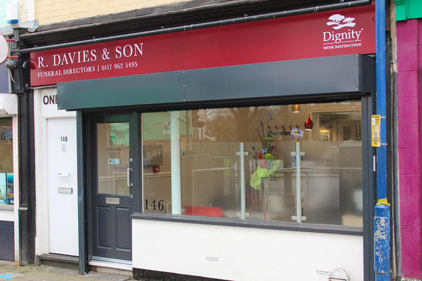 R Davies & Son Funeral Directors in St Pauls, Bristol