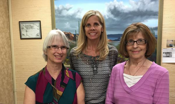 A photo of Dave Hovde Agency Staff: Sherri, Teresa, Rita.