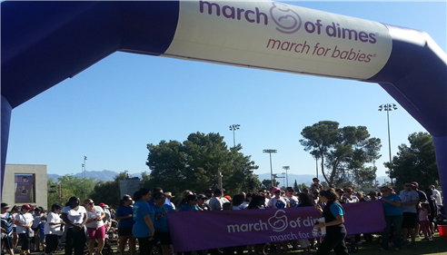 March of Dimes - Tucson 2013