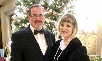 My lovely wife's school Christmas Party, Great Gatsby Theme