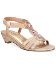 Image of Karen Scott Casha Wedge Sandals, Created for Macy's