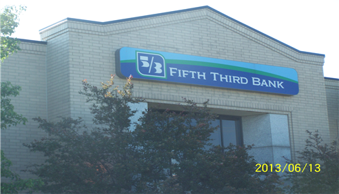 We are located in the Fifth Third Bank Building.
