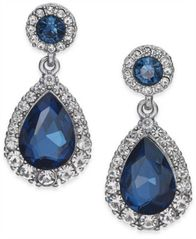 Image of Charter Club Pavé & Stone Drop Earrings, Created for Macy's