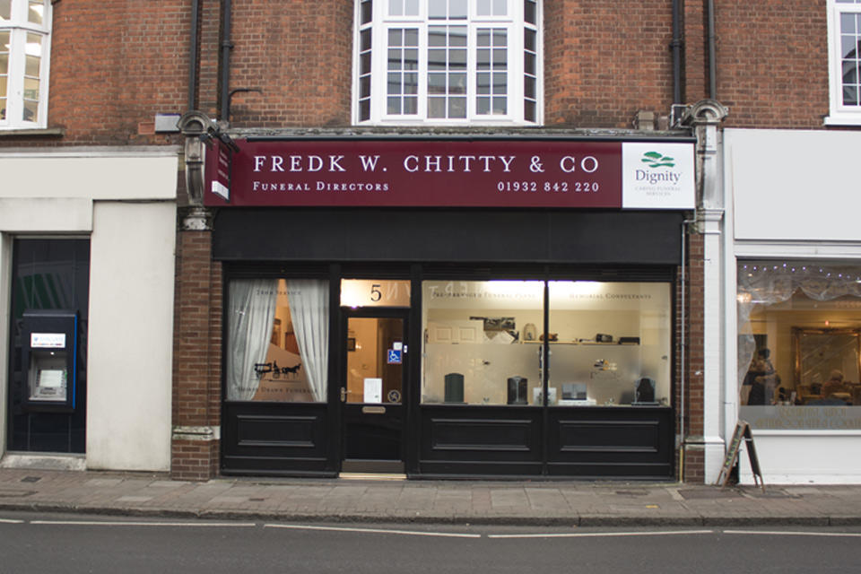 Frederick W Chitty & Co Funeral Directors in Weybridge