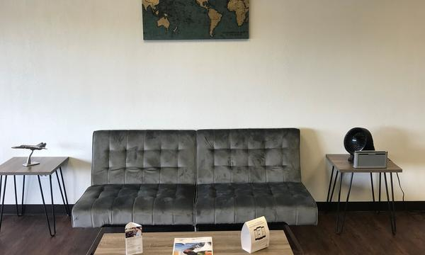 Couch in the office