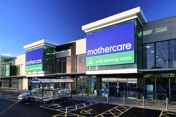Mothercare Warrington outside