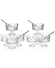 Image of Godinger Dublin Collection Crystal 16-Pc. Trifle Tasting Set