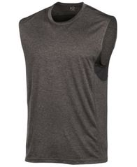 Image of ID Ideology Men's Mesh-Trimmed Sleeveless T-Shirt, Created for Macy's