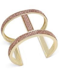 Image of INC International Concepts Pavé Open Cuff Bracelet, Created for Macy's